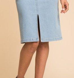 Splendid Patch Pocket Skirt