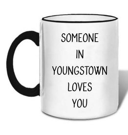 Retrospect Group Someone in Youngstown Loves You Mug