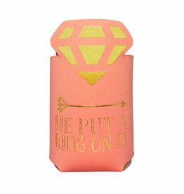 Ann Page Koozie- He Put A Ring On It