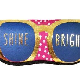 Ann Page Zipper Sunglasses Pouch- Shine Bright