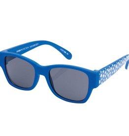 Elegant Baby Boy Wayfarer Sunglasses-Cobalt