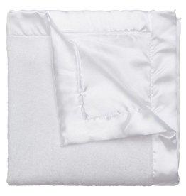 Elegant Baby Coral Fleece Blankie-White