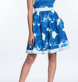 Plenty by Tracy Reese Carla Dress Blue Multi Floral