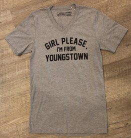 The Direction Girl Please I'm From Youngstown V-Neck Tee