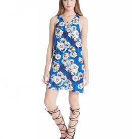 Fifteen Twenty Crisscross Tank Dress- Print