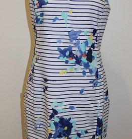 Joules Sleeveless Shift Dress-Multi Floral