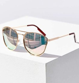 Quay Cherry Bomb Sunglasses Rose Gold/Pink