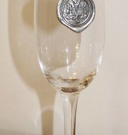 Southern Jubilee Champagne Flute- Initial M