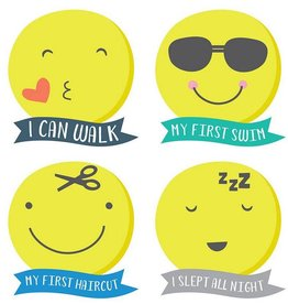 Lucy Darling Tiny Texter Milestone Stickers