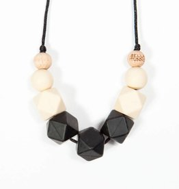 Bella Tunno Smoky Black Short Teething Necklace
