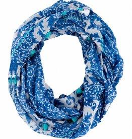 Shiraleah Hedy Infinity Scarf- Blue