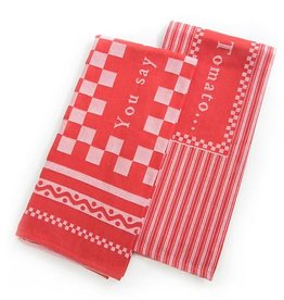 MacKenzie-Childs You Say Tomato Dish Towels-Set of 2