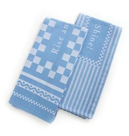 MacKenzie-Childs Rise & Shine Dish Towels-Set of 2