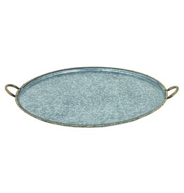 Star Home Designs San Miguel Round Handled Tray