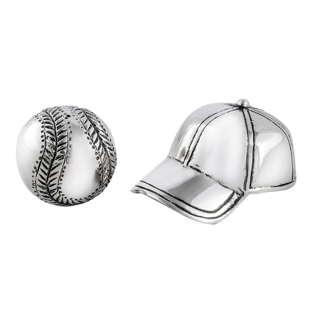 Star Home Designs Baseball Hat/Ball Salt & Pepper Shaker Set ...