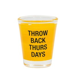 Say What Throwback Thursday Shot Glass