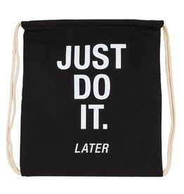 Say What Just Do It Drawstring Bag