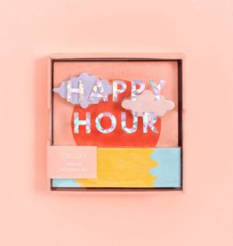 ban.do Deluxe Notepad Set- Happy Hour