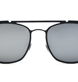 Quay High and Dry Sunglasses Black/Silver Mirror