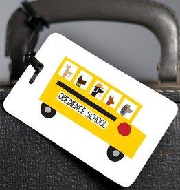 R. Nichols Obedience School Luggage Tag