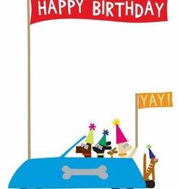 R. Nichols Joyride Birthday Greeting Card