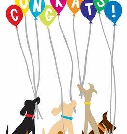 R. Nichols Doggie Congratulations Greeting Card
