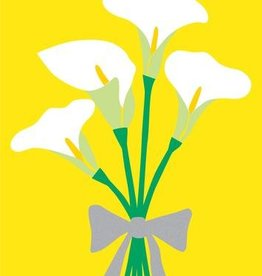 R. Nichols Calla Lillies Greeting Card
