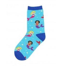 Socksmith Socksmith- Kid's Socks Mermaid You Look - Small (2-4 years, 6-11 shoe size)