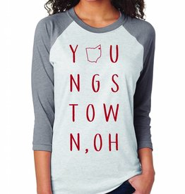 OCJ Apparel Youngstown Raglan-