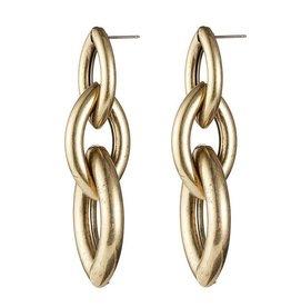 Jenny Bird Sloane Earrings Gold