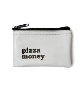 He Said, She Said Pizza Money Vinyl Zip Pouch