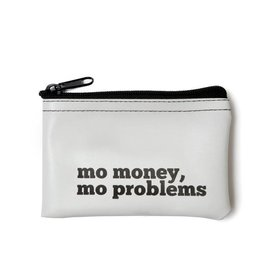 He Said, She Said Mo Money, Mo Problems Vinyl Zip Pouch