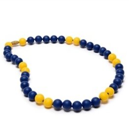 Chewbeads Spirit Necklace - Cobalt & Yellow