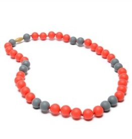 Chewbeads Spirit Necklace - Red & Grey