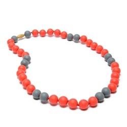 Chewbeads Spirit Necklace - Red & Grey