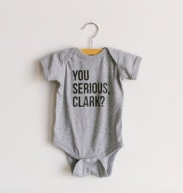 Oyster's Pearl You Serious Clark? Onesie