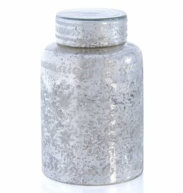 Shiraleah Chantal Tall Jar - Silver