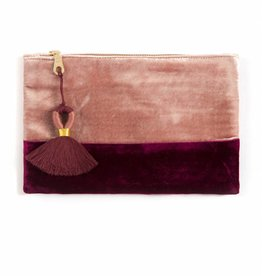 Shiraleah Artois Zip Pouch- Blush
