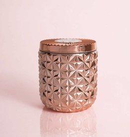 Capri Blue 30oz Rose Gold Faceted Jar- Pink Grapefruit & Prosecco