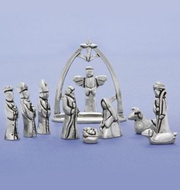 Basic Spirit Small Nativity w/ Creche