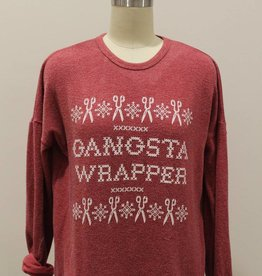 Retro Brand Gangsta Wrapper Super Soft Sweatshirt