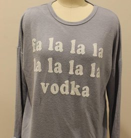 Retro Brand Fa La Vodka Sweatshirt
