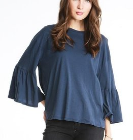 Michelle By Comune 3/4 Bell Sleeve Top