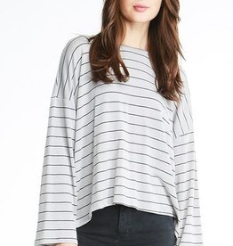 Michelle By Comune Haven Striped Elblow Tee