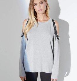 Fifteen Twenty Embellished Sweatshirt