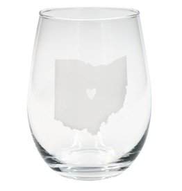 Say What Ohio Stemless Wine Set