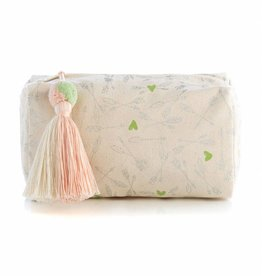Shiraleah Lovie Boxy Cosmetic Pouch