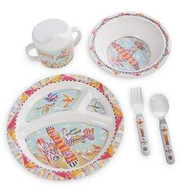 MacKenzie-Childs Toddlers Dinnerware Set-Take Flight