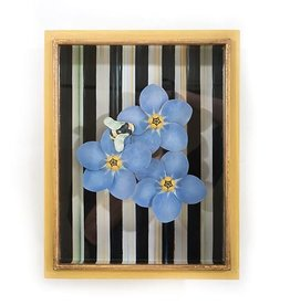 MacKenzie-Childs Forget Me Not Shadow Box