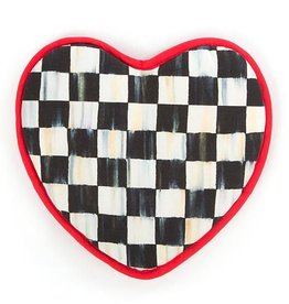 MacKenzie-Childs Courtly Check Heart Pot Holder